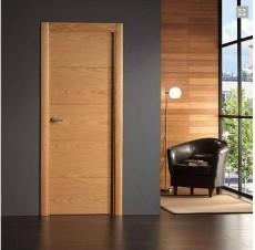 Puerta de madera roble o haya 299 instalada precios for Puertas de tambor modernas