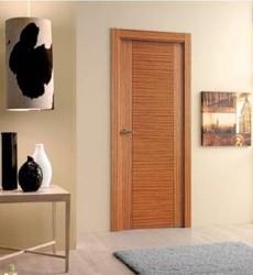 Puerta de madera roble o haya 299 instalada precios for Puertas de madera en oferta