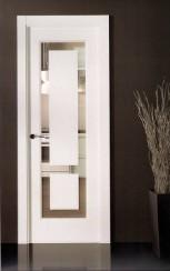 Puerta lacada 299 instalada puertas lacadas en madrid for Puertas interiores blancas modernas